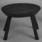 Milking stool by Jim Rendi