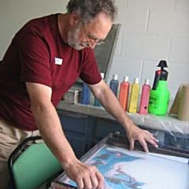 Richard Aldorasi working