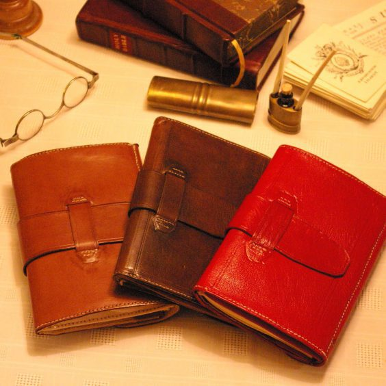 Leather Liverpool Pocket Book